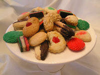 Italian cookie tray